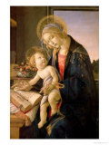 The Virgin Teaching the Infant Jesus to Read Giclée-tryk af Sandro Botticelli