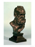 Portrait Head of Victor Hugo Giclee Print by Auguste Rodin