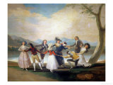 Blind Man's Buff, 1788-9 Giclee Print by Francisco de Goya