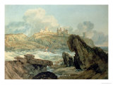 Dunstanburgh Castle Giclee Print by William Turner
