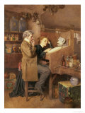 Grocer and Wife, 1868 Giclee Print by Charles Green