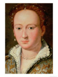 Portrait of Bianca Cappello, circa 1580 Reproduction procédé giclée par Alessandro Allori