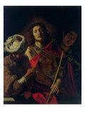 Ecce Homo Giclée-tryk af Domenico Fetti