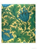 Anemone' Design Giclee Print by William Morris