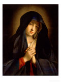 The Madonna in Sorrow Giclee Print by Giovanni Battista Salvi da Sassoferrato 
