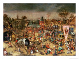 The Kermesse of the Feast of St. George Giclee Print by Pieter Bruegel the Elder