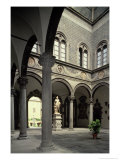 Interior Courtyard Giclee Print by  Michelozzo di Bartolommeo