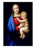 The Grand Duke's Madonna, circa 1504-05 Impression giclée par  Raphael