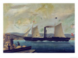"""The """"Mallorcan,"""" Ship on Which George Sand and Chopin Travelled to Mallorca Giclee Print"""
