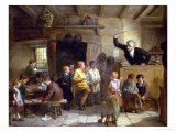 A Village School Giclee Print by William III Bromley