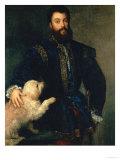 Federigo Gonzaga, Duke of Mantua, 1525-30 Giclée-tryk af Titian (Tiziano Vecelli)