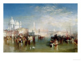 Venice, 1840 Reproduction procédé giclée par William Turner