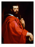 St. James the Apostle Giclee Print by Peter Paul Rubens