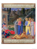 The Kiss of Judas, Detail from Panel Three of the Silver Treasury of Santissima Annunziata Giclee Print by  Fra Angelico