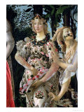 Primavera: Detail of Flora Giclée-Druck von Sandro Botticelli