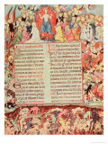 Miniature of the Last Judgement Giclee Print by Ramon Destorrents