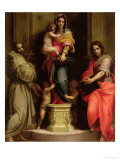 Madonna Delle Arpie Lmina gicle por Andrea del Sarto