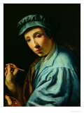 Self Portrait Reproduction procédé giclée par Alessandro Allori