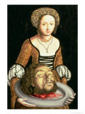 Salome Giclee Print by Lucas Cranach the Elder