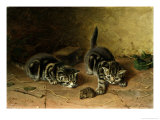 Reluctant Playmate Giclee Print by Horatio Henry Couldery