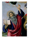 St. John the Evangelist, from the Altarpiece of St. Mark, circa 1488-90 (Detail) Giclee Print by Sandro Botticelli