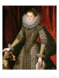 Queen Margarita of Austria, 1609 Giclee Print