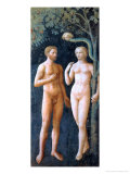 The Temptation of Adam and Eve, circa 1427 Giclee Print by Tommaso Masolino Da Panicale