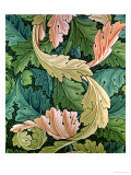 &quot;Acanthus&quot; Wallpaper Design, 1875 Giclee Print by William Morris