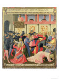 The Massacre of the Innocents, Detail of Panel One of Silver Treasury of Santissima Annunziata Giclee Print by  Fra Angelico