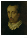 Portrait of Torquato Tasso Reproduction procédé giclée par Alessandro Allori