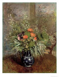 Still Life of Wild Flowers Giclee Print by Alfred Sisley
