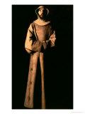 Fransk af Assisi Giclée-tryk af Francisco de Zurbarán