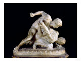 The Wrestler, Copy of Greek Sculpture 3rd Century BC Giclee Print