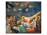 The Lamentation of Christ, circa 1305 Premium Giclee Print by  Giotto di Bondone