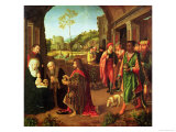 Adoration of the Magi Giclee Print by Gerard David