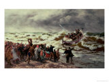 The Return of the Lifeboat Giclee Print by Thomas Rose Miles