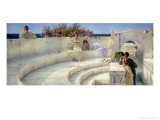 Under the Roof of Blue Ionian Weather Giclee Print by Sir Lawrence Alma-Tadema