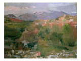 Granada, 1920 Giclee Print by Joaquín Sorolla y Bastida