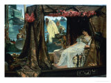 Anthony and Cleopatra, 1883 Premium Giclee Print by Sir Lawrence Alma-Tadema