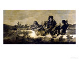 The Fates, circa 1819-23 Giclee Print by Francisco de Goya