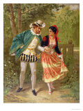 Don Juan, Scene Illustrating the Opera 'Don Giovanni' by Wolfgang Amadeus Mozart, 1879, Giclee Print