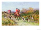 Hunting Scene Giclee Print by Heywood Hardy