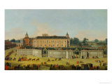 The Palace of Aranjuez, 1756 Giclée-tryk af Francesco Battaglioli