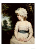 Simplicity, a Portrait of Miss Theophilia Ghatkin, 1785 Giclee Print by Joshua Reynolds