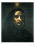 Portrait of Fra Angelico Giclée-tryk af Carlo Dolci