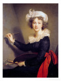 Self Portrait Reproduction procédé giclée par Elisabeth Louise Vigee-LeBrun