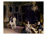 An Interior in Venice, 1899 Giclee Print by John Singer Sargent