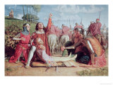 Rienzi Vowing to Obtain Justice for the Death of His Young Brother Giclee Print by William Holman Hunt