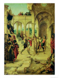 The Flagellation of Christ Gicl&#233;e-Druck von Alejo Fernandez