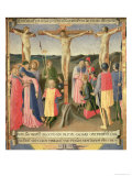 Christ on the Cross Between the Two Thieves Giclee Print by  Fra Angelico